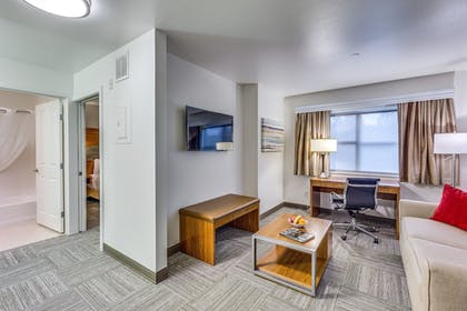Living Area | The Marshall Suites