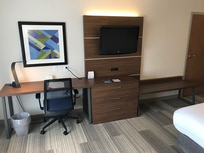 Living Area | Holiday Inn Express Hotel & Suites Rochester - Victor