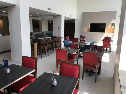 Lobby Sitting Area | Holiday Inn Express Hotel & Suites Rochester - Victor