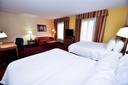 | 2 Queen Beds Studio Suite  | Hampton Inn Suites Louisville East