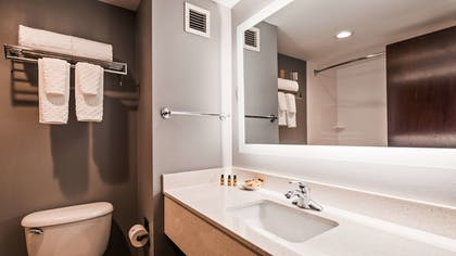 Bathroom | Best Western Plus Fairfield Hotel