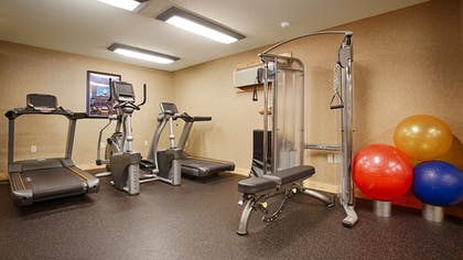 Fitness Facility | Best Western Premier The Lodge on Lake Detroit