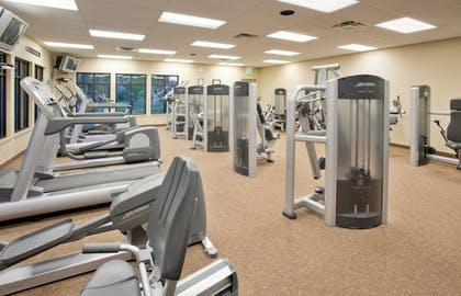 Fitness Facility | The Lodge at Eagle Crest Resort
