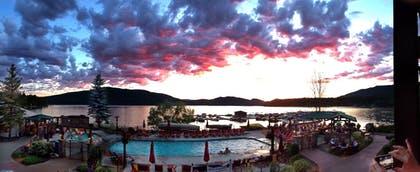 View from Hotel | Lodge at Whitefish Lake