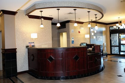 Reception   Holiday Inn Express and Suites Springfield Medical District