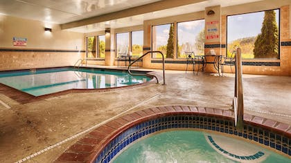 Indoor Pool | Best Western Plus Bass Hotel & Suites
