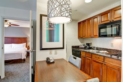 | 1 King Bed 1 Bedroom Suite | Homewood Suites by Hilton Bentonville-Rogers