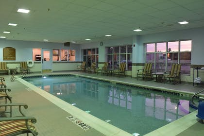 Pool | Holiday Inn Express Hotel & Suites Watertown-Thousand Island