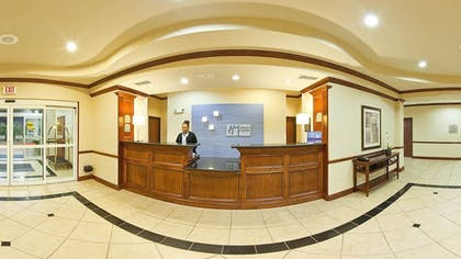 Reception | Holiday Inn Express Hotel & Suites Sherman Highway 75