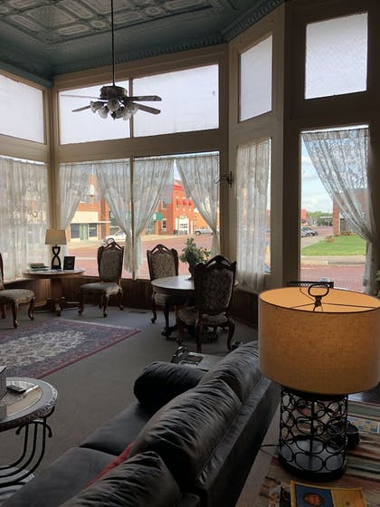 View from Hotel | The Courtland Hotel and Day Spa