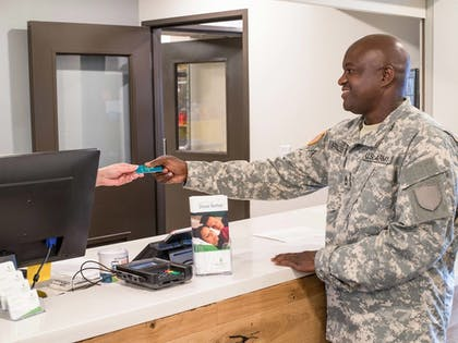 Check-in/Check-out Kiosk |  | WoodSpring Suites Charleston Airport