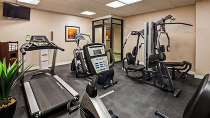 Fitness Facility | Best Western Plus Kendall Hotel & Suites