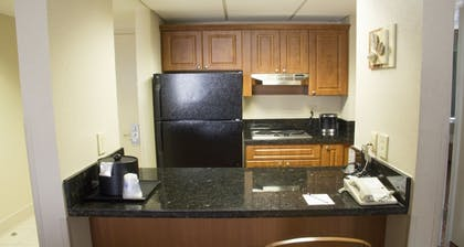 In-Room Kitchenette | Best Western Plus Kendall Hotel & Suites