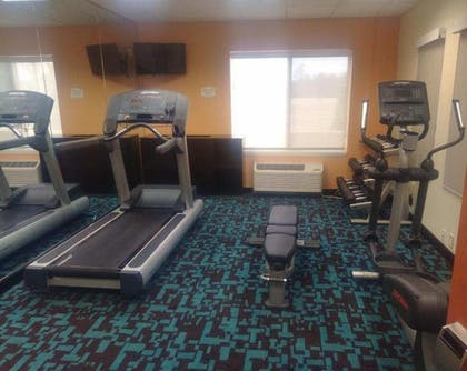 Fitness Facility | Fairfield Inn & Suites by Marriott Wilson