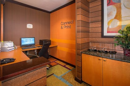 Business Center | Fairfield Inn & Suites by Marriott Wilson