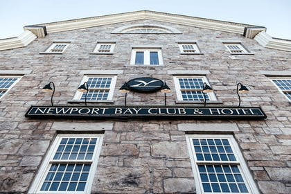 Hotel Front | Newport Bay Club and Hotel