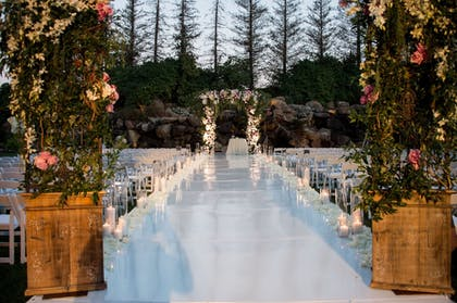 Outdoor Wedding Area | Four Seasons Hotel Los Angeles at Westlake Village