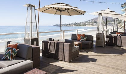 Terrace/Patio | Pacific Edge Hotel