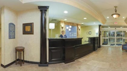 Reception | Holiday Inn Express Hotel & Suites Frankfort