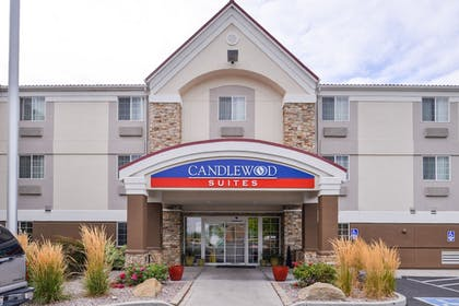 Hotel Front   Candlewood Suites Boise-Meridian