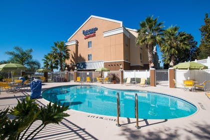 Outdoor Pool | Fairfield Inn & Suites by Marriott Clermont