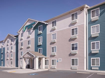 Exterior detail | WoodSpring Suites Gulfport