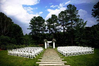 Outdoor Wedding Area | The Umstead Hotel and Spa