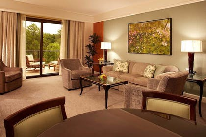 Living Area | The Umstead Hotel and Spa