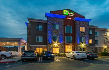 Hotel Front - Evening/Night | Holiday Inn Express Hotel & Suites Roseville-Galleria Area