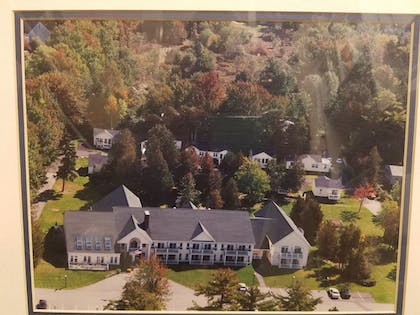 Aerial View | The Country Inn at Camden Rockport