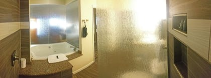 Bathroom | Cherry Tree Inn & Suites