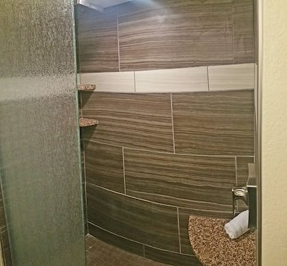 Bathroom Shower | Cherry Tree Inn & Suites