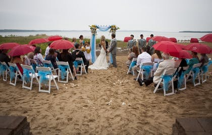Outdoor Wedding Area | Cherry Tree Inn & Suites