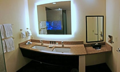 Bathroom Sink | Cherry Tree Inn & Suites