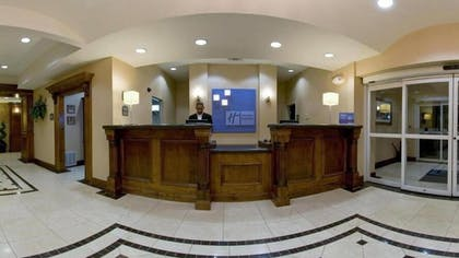 Reception | Holiday Inn Express Hotel & Suites Vernon College Area