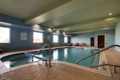 Pool | Holiday Inn Express Hotel & Suites Vernon College Area