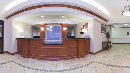 Reception | Holiday Inn Express Hotel & Suites Longmont