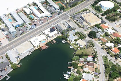 Aerial View | Bay Palms Waterfront Resort - Hotel and Marina
