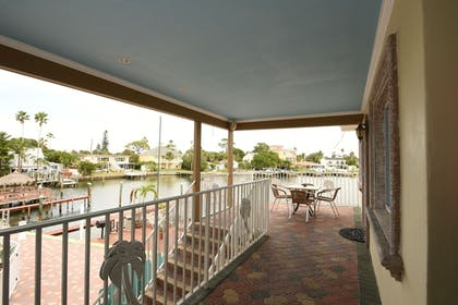Porch | Bay Palms Waterfront Resort - Hotel and Marina
