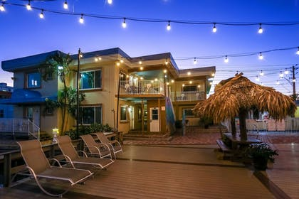 Hotel Front - Evening/Night | Bay Palms Waterfront Resort - Hotel and Marina