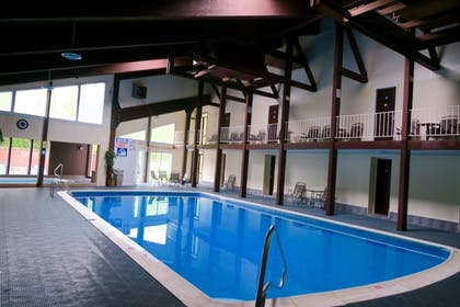 Indoor Pool | Days Inn by Wyndham Lincoln