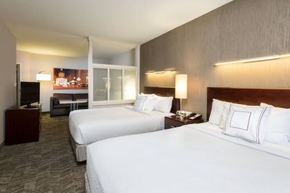 Guestroom   SpringHill Suites by Marriott Indianapolis Fishers