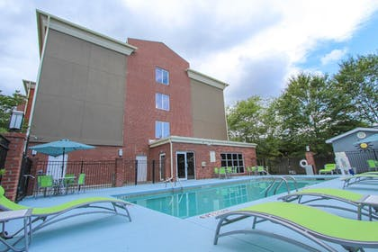 Pool | Holiday Inn Express Hotel & Suites Charleston-North