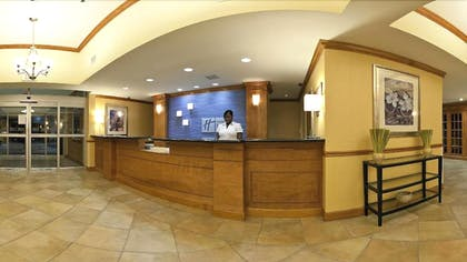 Reception | Holiday Inn Express Hotel & Suites Charleston-North