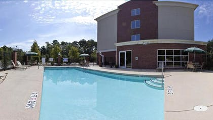 Outdoor Pool | Holiday Inn Express Hotel & Suites Charleston-North