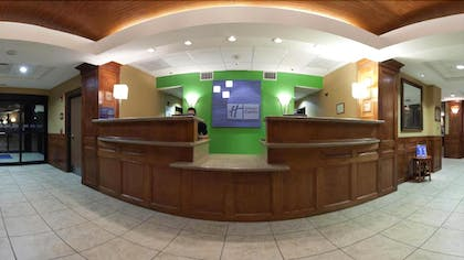 Reception   Holiday Inn Express Hotel & Suites Laredo-Event Center Area