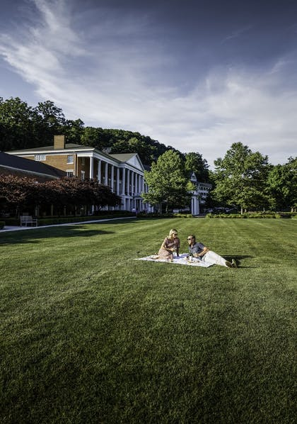 Property Grounds | Omni Bedford Springs Resort