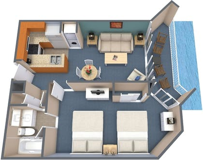 Floor plan | The Strand - A Boutique Resort