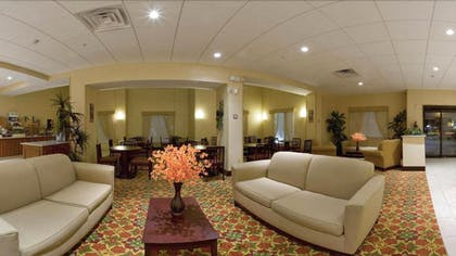 Lobby Sitting Area | Holiday Inn Express Hotel & Suites Port Richey