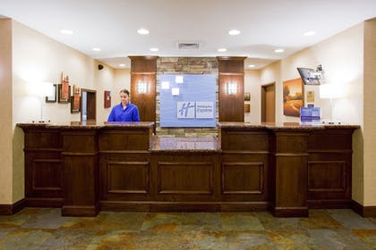 Reception | Holiday Inn Express Hotel & Stes Salt Lake City-Airport East